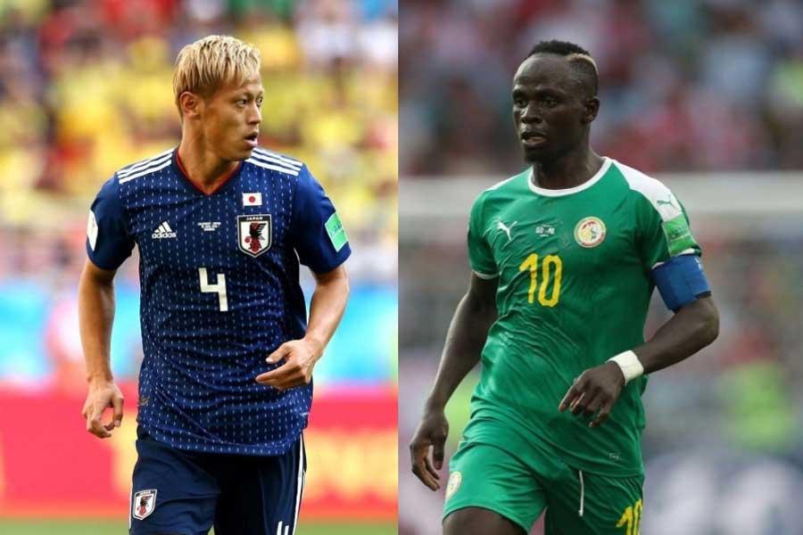 日本は、過去にセネガルと3度対戦しているが、1分2敗と勝利がない【写真:Getty Images】