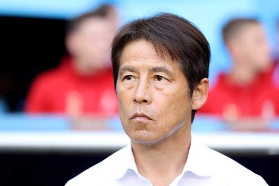 日本代表の西野監督【写真:Getty Images】