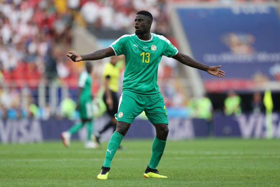 セネガル代表のA・エンディアイエの口から「カガワ」の名前が挙がる【写真:Getty Images】