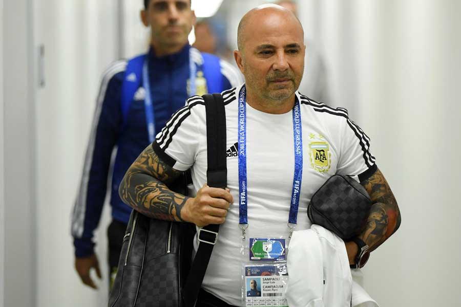 アルゼンチン代表選手からサンパオリ監督に対して、解任を要求していると報じられた【写真:Getty Images】