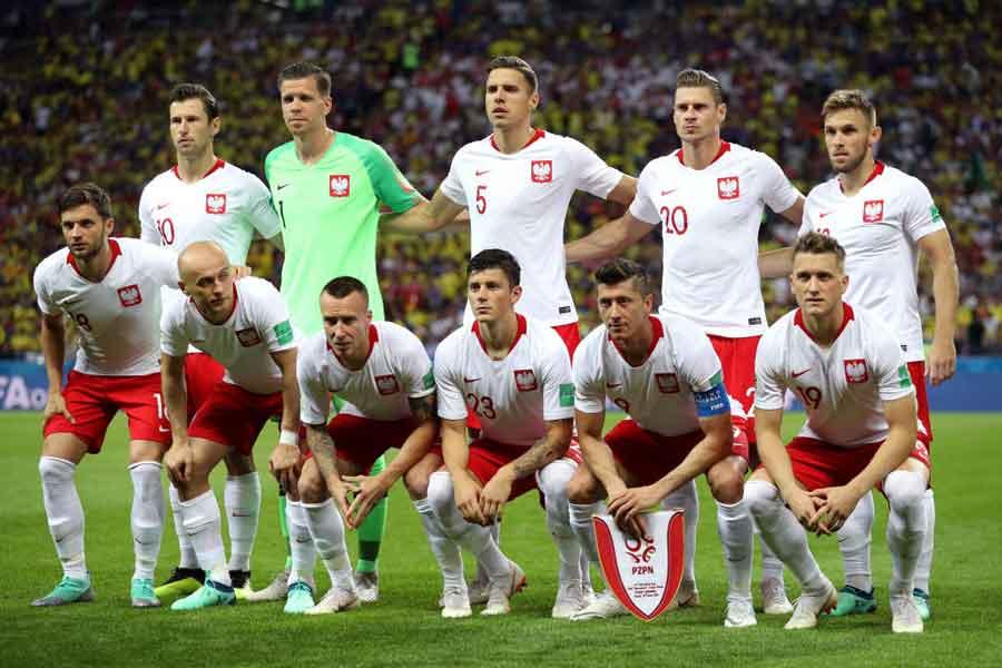 ポーランドは、欧州出場国でグループリーグ敗退第一号となってしまった【写真:Getty Images】