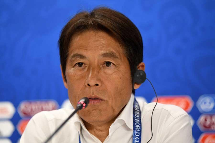 西野監督はセネガル戦後、選手たちを称えた【写真:Getty Images】