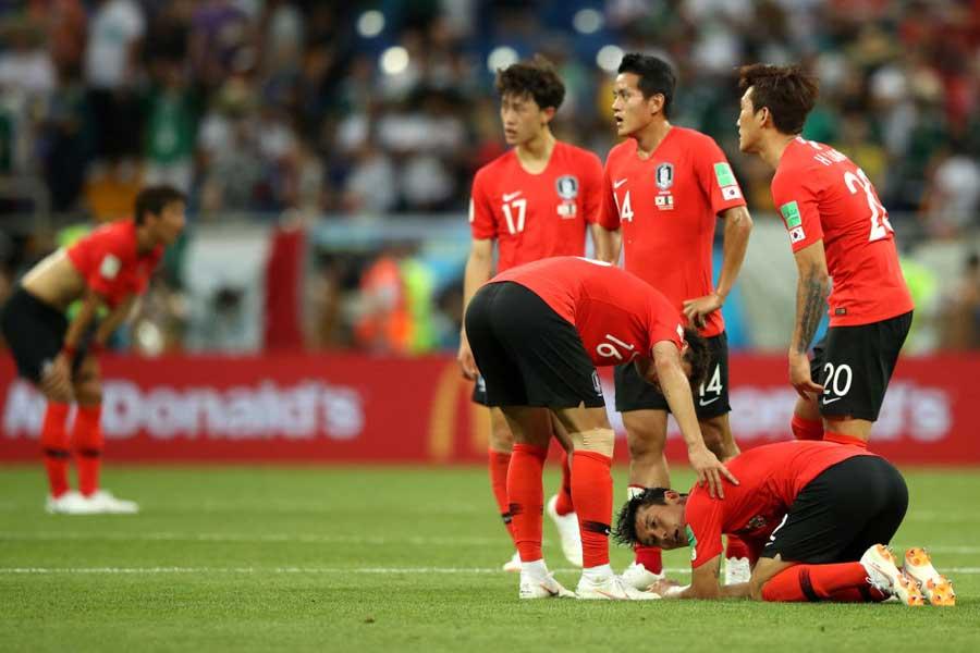 ライバル国である韓国にも、不屈の日本の姿は眩しく映っているようだ【写真:Getty Images】