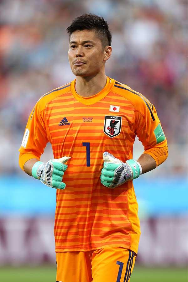 川島は2試合続けて不安定な対応を露呈している【写真:Getty Images】