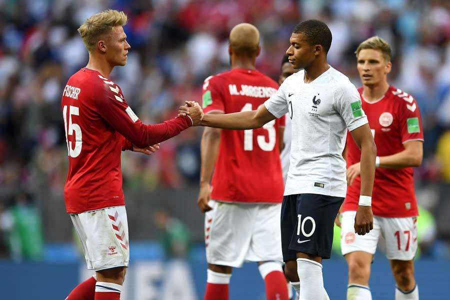 グループCはフランスとデンマークが決勝トーナメント進出を決めた【写真:Getty Images】