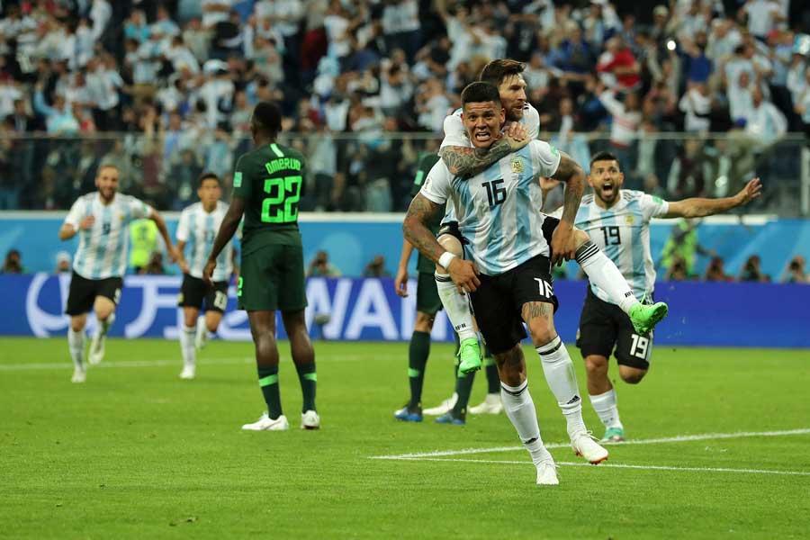 アルゼンチンが劇的グループリーグ突破!【写真:Getty Images】