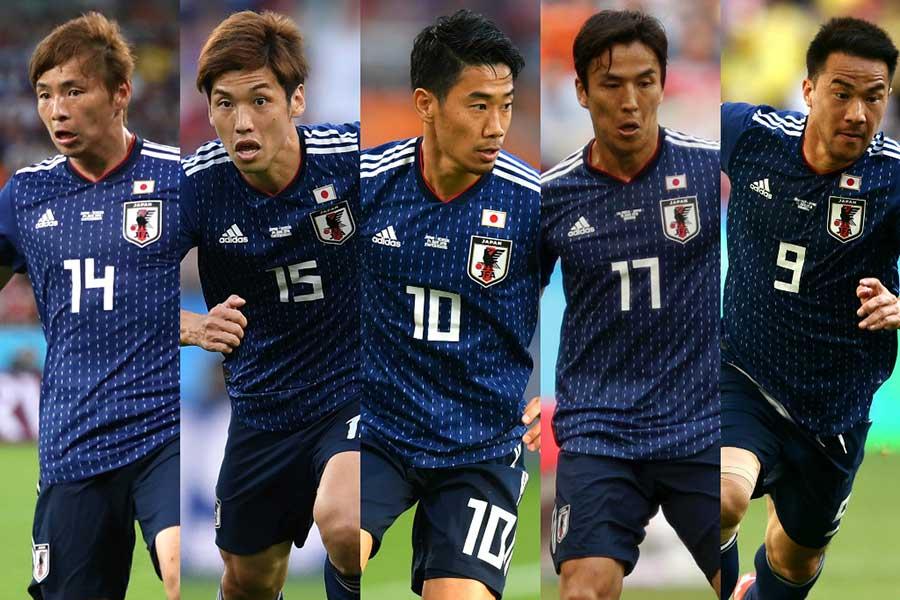 伊メディアが注目するドイツでプレー経験のある日本代表の選手たち【写真:Getty Images】