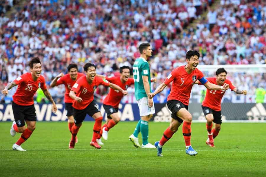 韓国代表の歴史的な番狂わせを母国メディアも絶賛している【写真:Getty Images】