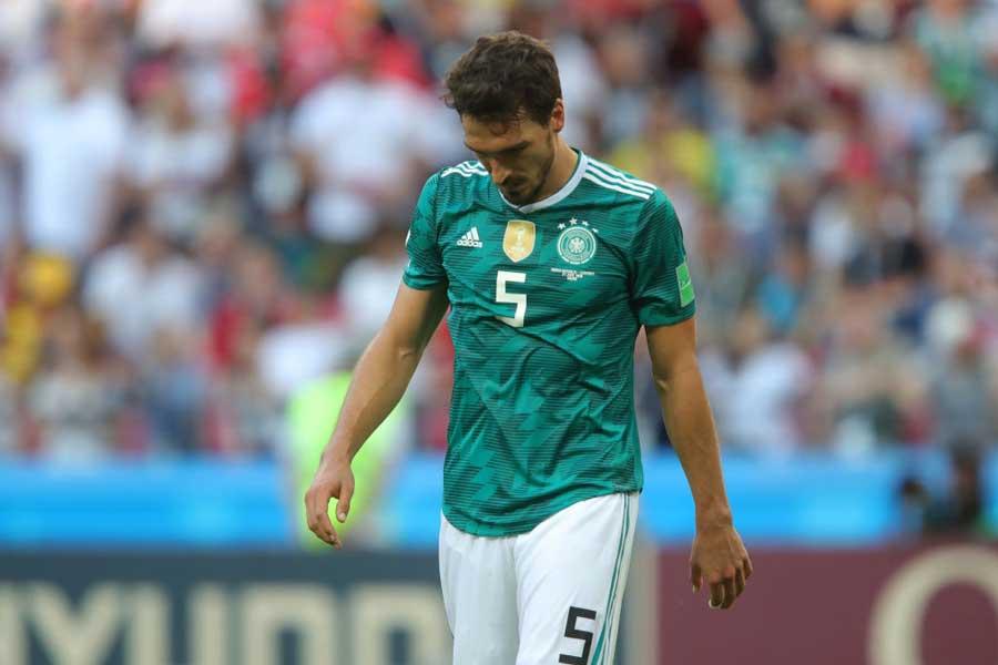 ドイツ代表DFフンメルスが嘆く「2017年秋」以降の失速とは?【写真:Getty Images】