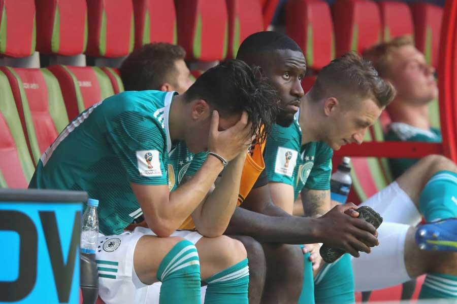ドイツ代表は、1勝2敗で屈辱のグループリーグ敗退となってしまった【写真:Getty Images】