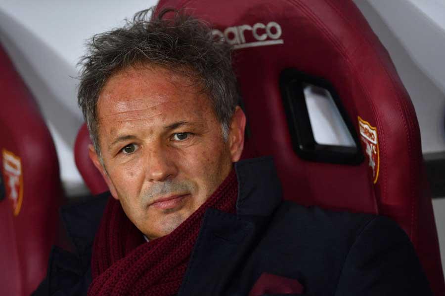 スポルティングの新監督になったミハイロビッチだが、就任9日で解任となった【写真:Getty Images】