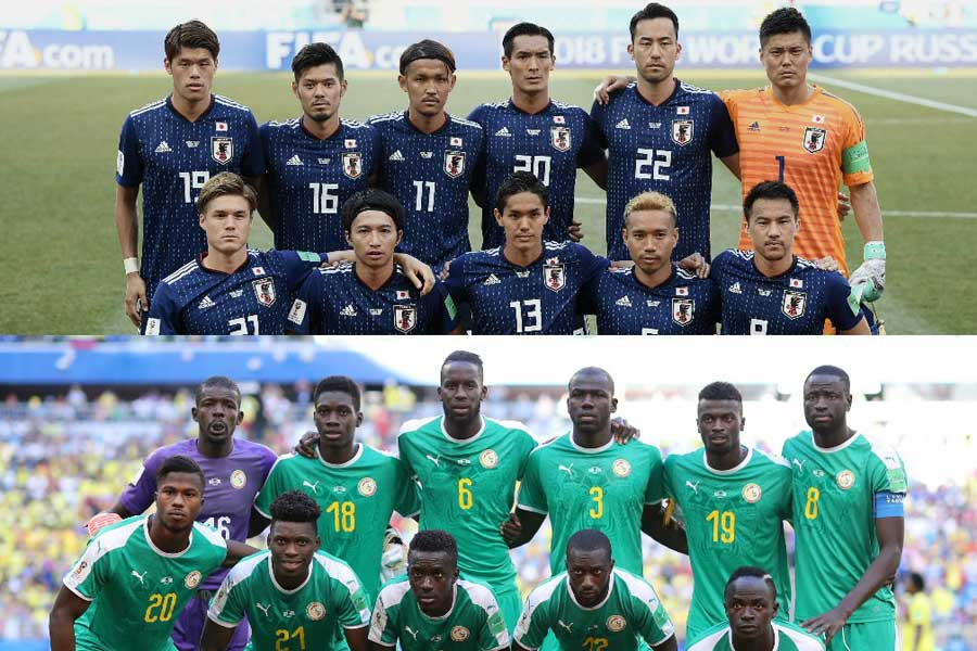 日本はセネガルとの2位争いをフェアプレーポイントの差で制した【写真:Getty Images】