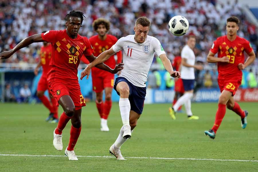 イングランド対ベルギーは前半を0-0で折り返した【写真:Getty Images】