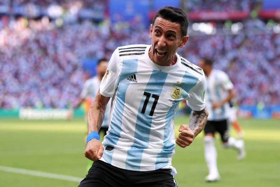 フランス対アルゼンチンは1-1で勝負の後半へ【写真:Getty Images】
