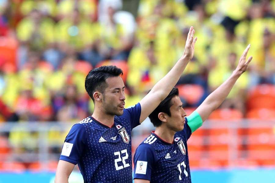 記念すべき勝利の陰で、吉田は「残念」という出来事に見舞われていた【写真:Getty Images】