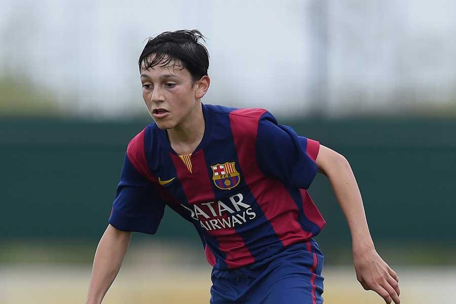 カンテラ(下部組織)でプレーする16歳の左サイドバックDFジョエル・ロペス【写真:Getty Images】