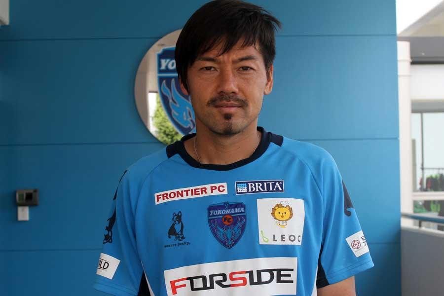 2010年の南アフリカW杯戦士であるMF松井大輔(横浜FC)【写真:Football ZONE web】