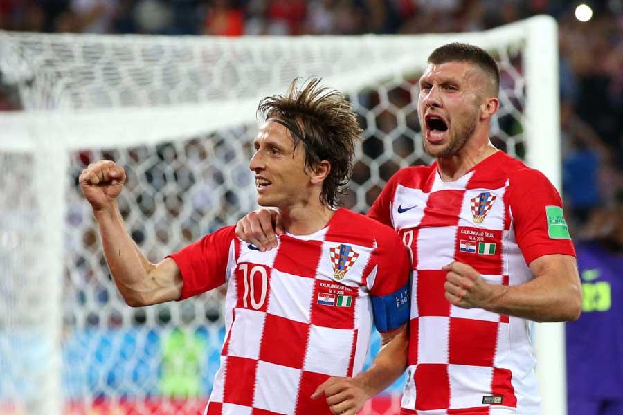 アフリカの雄ナイジェリアを2-0撃破、クロアチアが好発進!【写真:Getty Images】