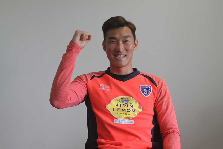 クラブ史上初の外国籍キャプテンの大役を託されたチャン・ヒョンス【写真:Football ZONE web】