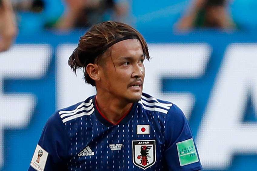 試合終盤の消極的なパス回しについて、宇佐美貴史がその時の様子を明かした【写真:AP】