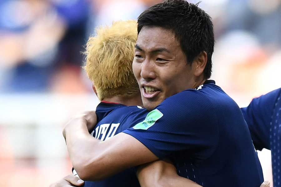 W杯初出場を果たしたDF昌子源【写真:Getty Images】