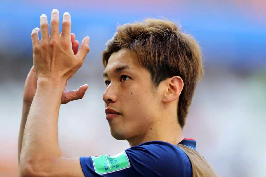 決勝ゴールを叩き込んだFW大迫勇也が日本の悪癖について言及している【写真:Getty Images】