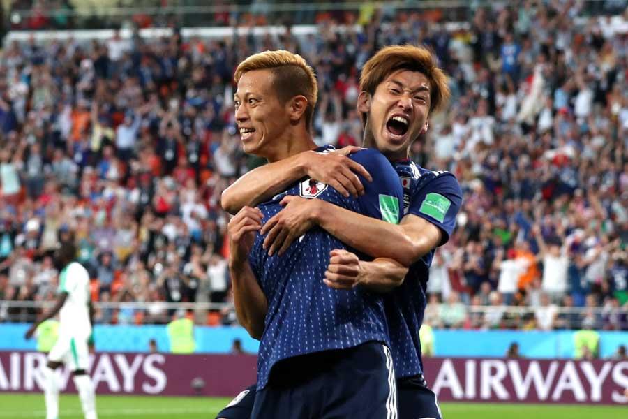 韓国メディアも本田圭佑の活躍と存在感について大きく報じた【写真:Getty Images】