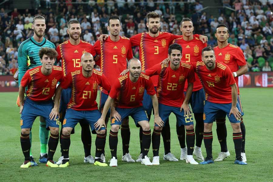 スペイン代表、EURO2016後に圧巻の20戦無敗でロシアW杯に突入【写真:AP】