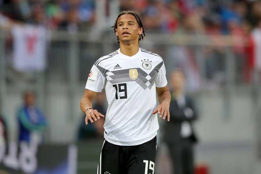 W杯最終メンバー23人を発表したドイツ代表だが、ザネが落選したことに世界各国でも驚きの声が上がっている【写真:Getty Images】