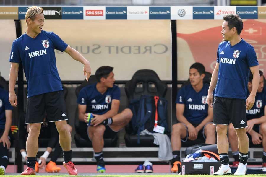 日本代表の本田が、32歳の誕生日会で語った言葉とは?【写真:Getty Images】