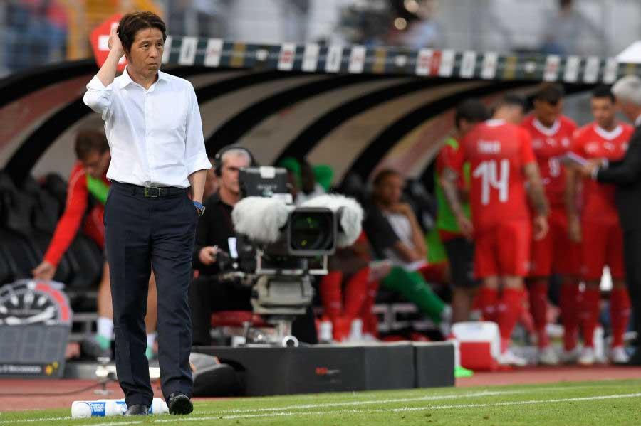 """韓国紙が""""不安感""""に襲われる日本代表の苦しい現状を分析している【写真:Getty Images】"""