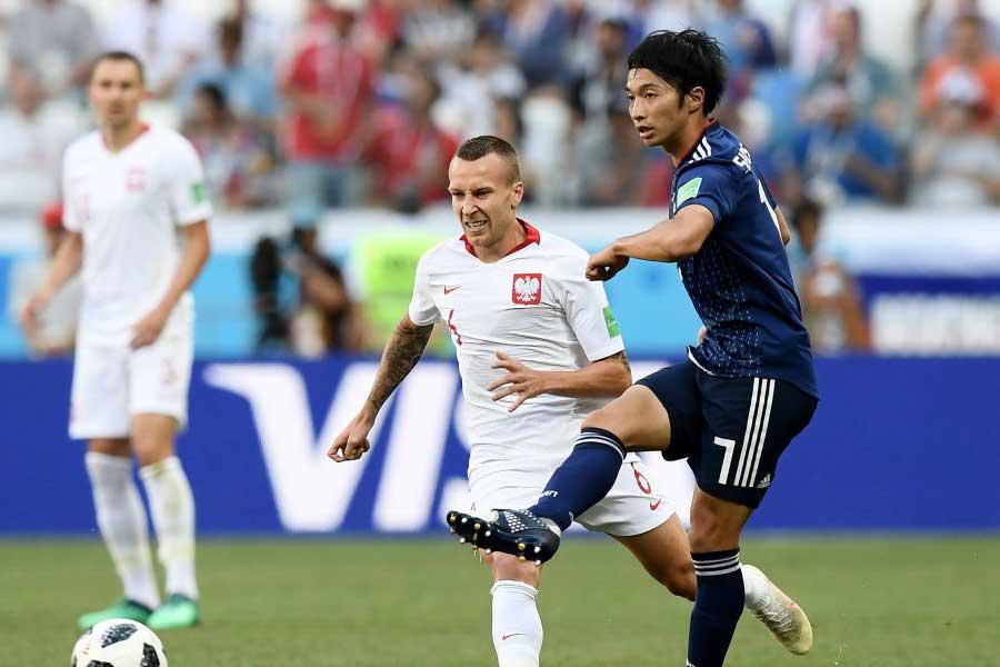 日本代表MF柴崎は、西野監督も信頼を寄せる新司令塔だ【写真:Getty Images】