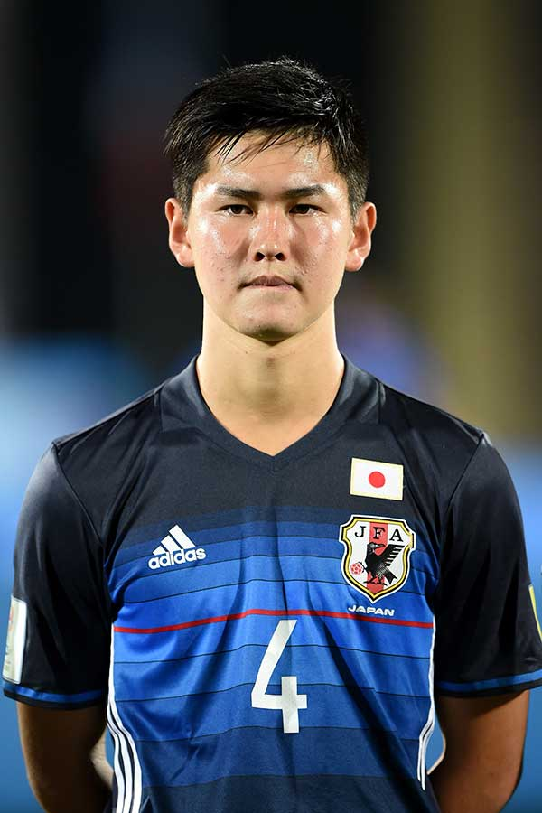 U-17日本代表では森山監督から「チームの心臓」と絶大な信頼を受けた平川【写真:Getty Images】