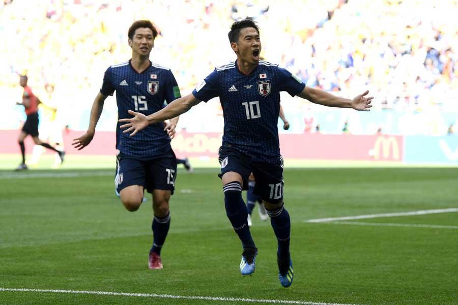 日本代表が強豪相手に番狂わせを起こし、世界を驚かせている【写真:Getty Images】