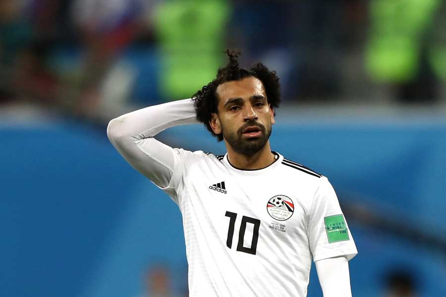 エジプトは2連敗でW杯敗退が決定した【写真:Getty Images】