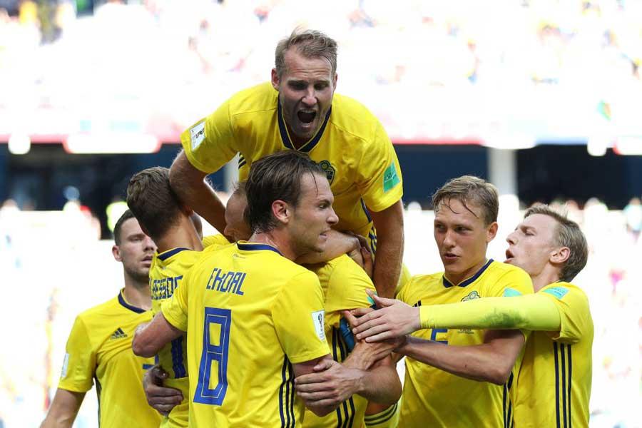 スウェーデンが1-0で韓国に勝利【写真:Getty Images】