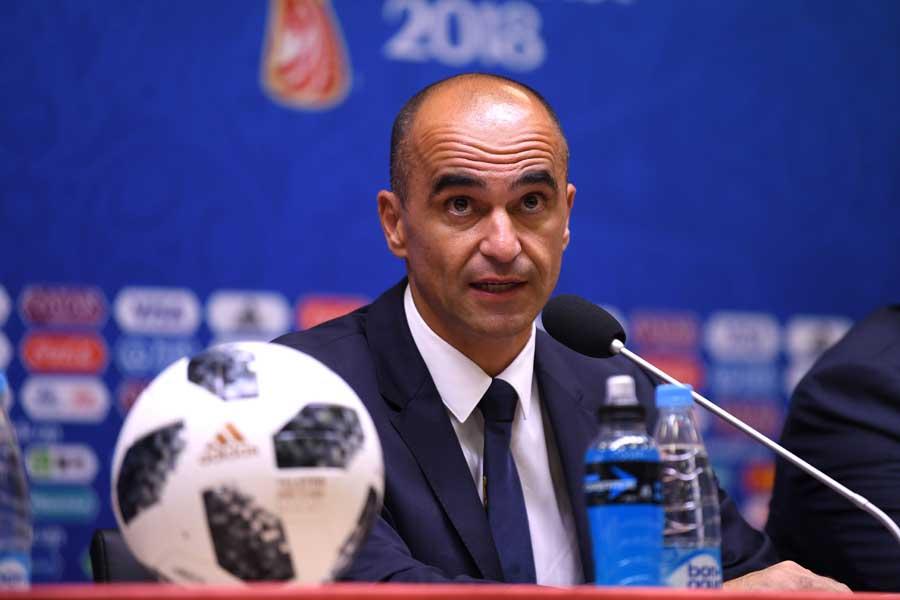 ベルギーのマルティネス監督は日本戦について「難しい試合になる」と警戒している【写真:Getty Images】