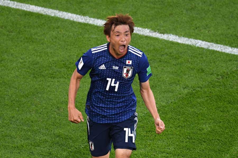 スペインメディアが日本のキーマンに乾を挙げている【写真:Getty Images】