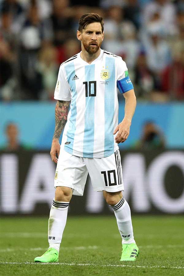 スペイン紙は、アルゼンチン代表のエースFWメッシをデータで分析している【写真:Getty Images】