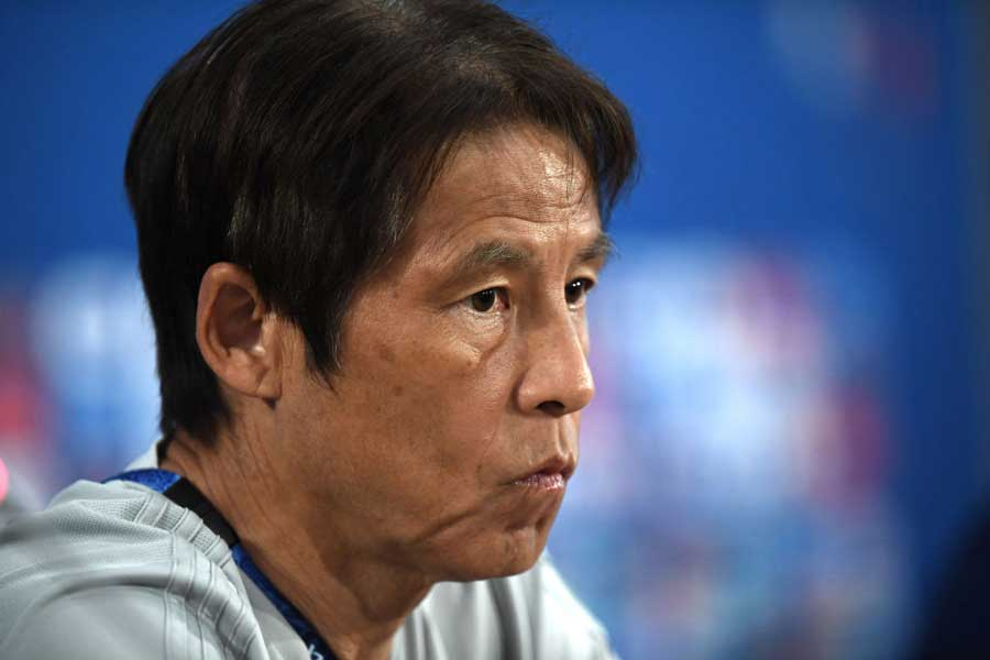 西野監督は「PK戦に至る前に決着をつけたい」と延長戦を含めた120分での勝利を見据えている【写真:Getty Images】