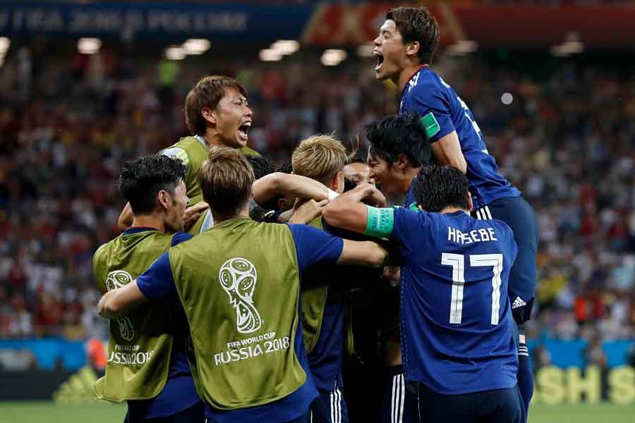 なでしこジャパンFW岩渕が、激闘を見せた西野ジャパンの奮闘に感動している【写真:AP】