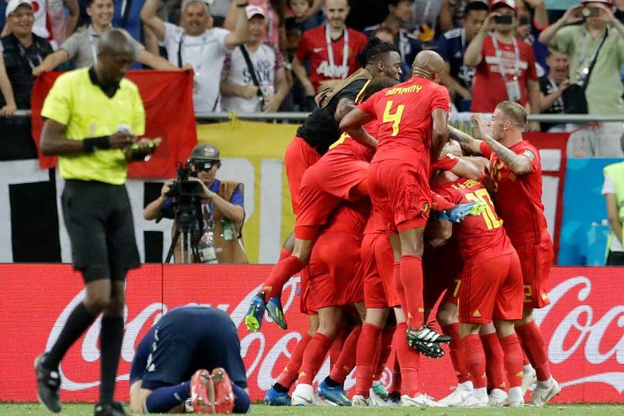 日本がW杯8強に限りなく近づいたベルギー戦、死闘の舞台裏とは?【写真:AP】