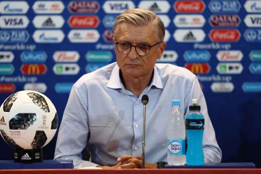 ポーランド代表のナバウカ監督の退任が決定した【写真:Getty Images】