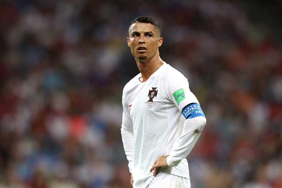 ポルトガル代表のエースFWロナウド【写真:Getty Images】