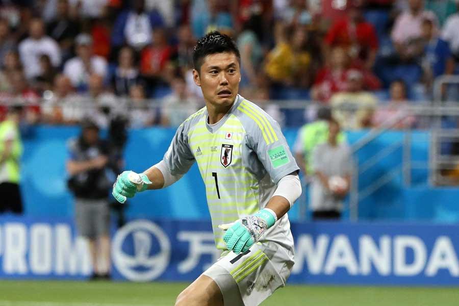 川島は「やれることはやりきったという気持ちです」と前を向いた【写真:Getty Images】