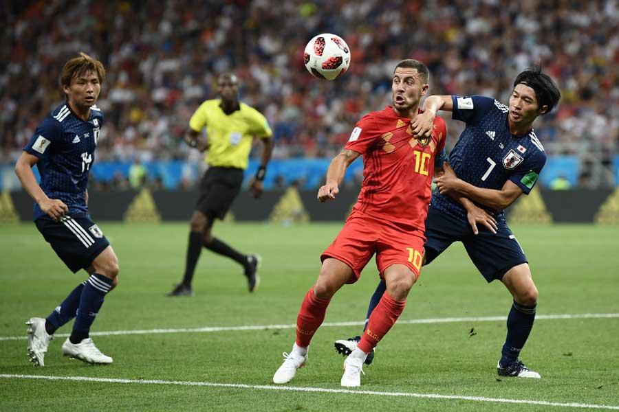 ベルギー対日本で生まれた「今大会決勝T最多」のデータとは?【写真:Getty Images】