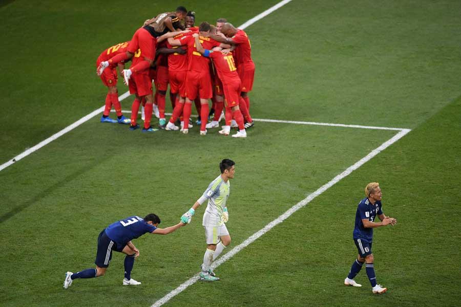 日本はベルギー相手に善戦も、後半ATに痛恨の逆転ゴールを許して敗れた【写真:Getty Images】