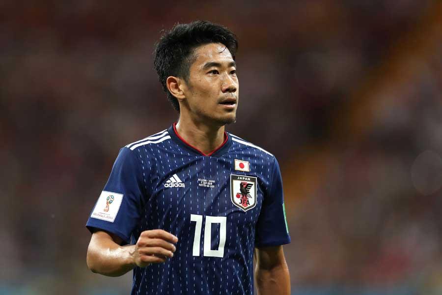 ロシア・ワールドカップ以降は日本代表から遠ざかるMF香川【写真:Getty Images】