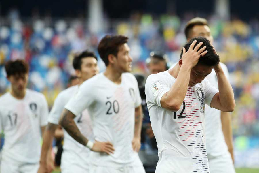 来年1月に開催されるアジアカップについて言及し、韓国代表はもっと危機感を持つべきだと警鐘を鳴らしている【写真:Getty Images】