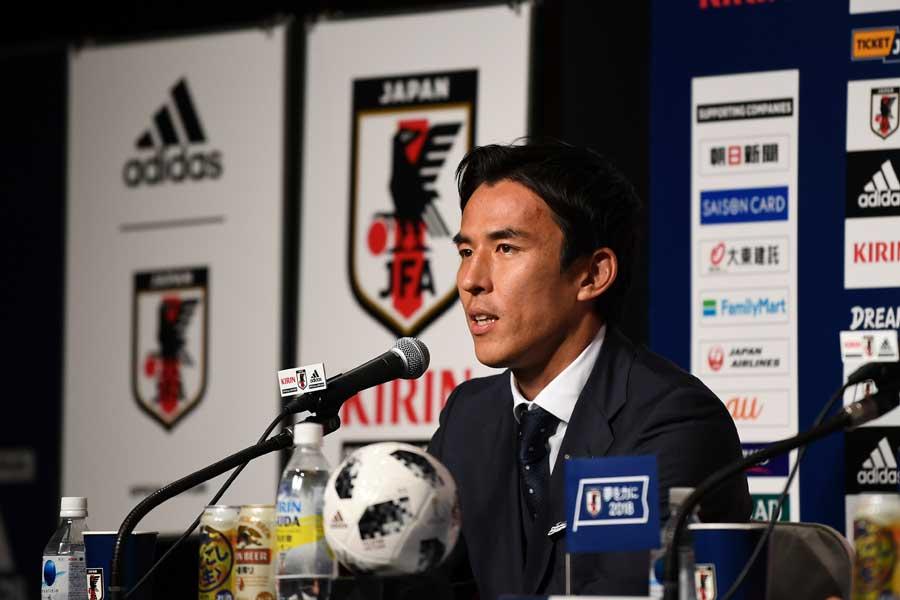 長谷部は、「W杯で日本の皆様の関心を集められたと思う」と振り返った【写真:Getty Images】